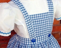 Girl's Dorothy from Wizard of OZ costume