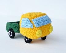 Amigurumi Patterns Cars : Unique amigurumi car related items Etsy
