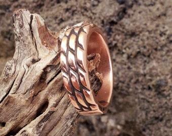 Handmade Copper Ladies Ring
