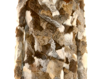 Multi Color Fur Jacket Size Small