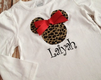 Minnie Mouse Inspired Shirt - Birthday Party Shirt, Disney Vacation Shirt