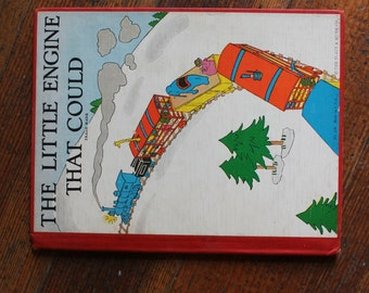 Vintage Children's Book - The Little Engine That Could By Watty Piper (The Platt and Munk Co. - 1930)