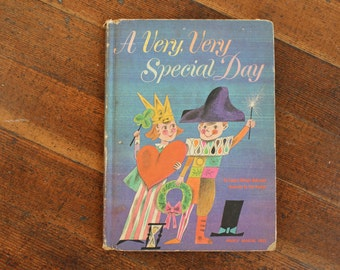 Vintage Children's Book - A Very Very Special Day (1963)