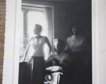 GHOSTS.... //  3 Vintage photo //