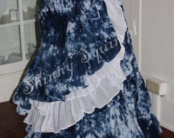 Tie dyed skirt-pick your color 15 or 25 yard