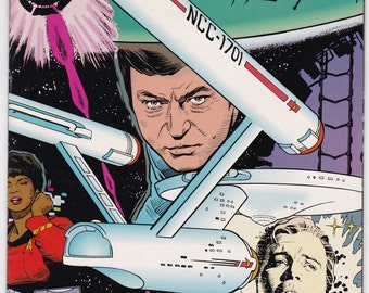 Star Trek Original Series Number 59 April 1994 DC Comics - science fiction - vintage comic - DC Comics - Star Trek - original series