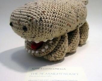CROCHET PATTERN Freckled Woola Amigurumi