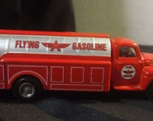 1993 Hartoy AHL 1/64 scale Die-Cast Metal Replica - Ford F-5 Flying A Gasoline Tanker Truck