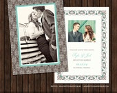 INSTANT DownloadPSD 5x7 Save the Date Card Template - S1