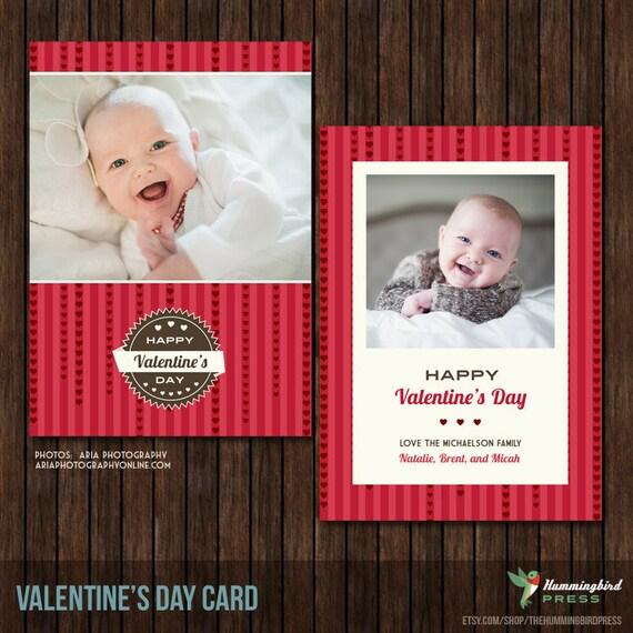 5x7 PSD Valentine's Card Template - V5