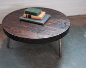 Custom Coffee Table- Reclaimed Wood Salvaged from the Baltimore Harbor
