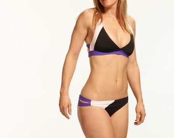 Rio Surf Bikini Briefs/ Purple