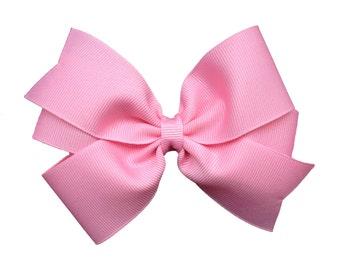 You pick 3 five inch hair bows - 5 inch hair bow, 5 inch bow, pinwheel bow, girls hair bows, toddler bows, girls bows, bows, hair clips