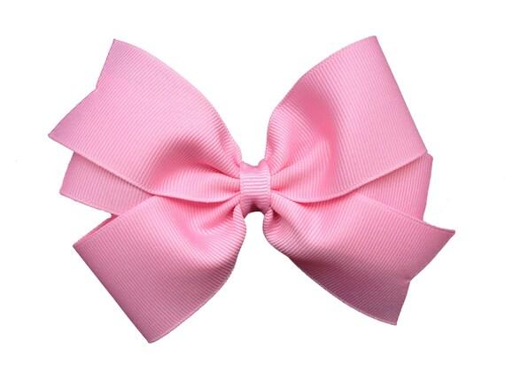 You pick color - 5 inch hair bow, 5 inch bow, pinwheel bows, large bows, girls hair bows, toddler bows, girls bows, custom bows