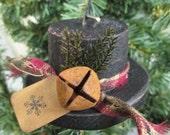 Snowman Hat Christmas Ornament