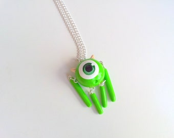 Mike from Monsters Inc University necklace