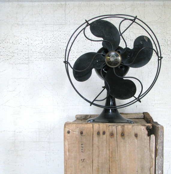 Gifts For A Farmhouse Decor Fan: Black Emerson Jr. Fan Urban Farmhouse Home Decor By
