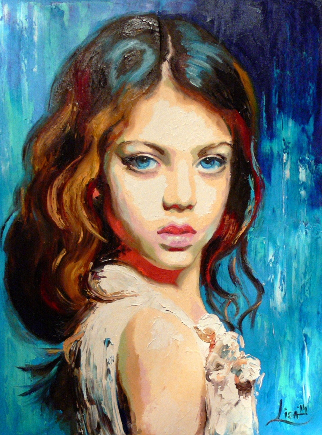 Displaying 19> Images For - Contemporary Oil Portraits ...