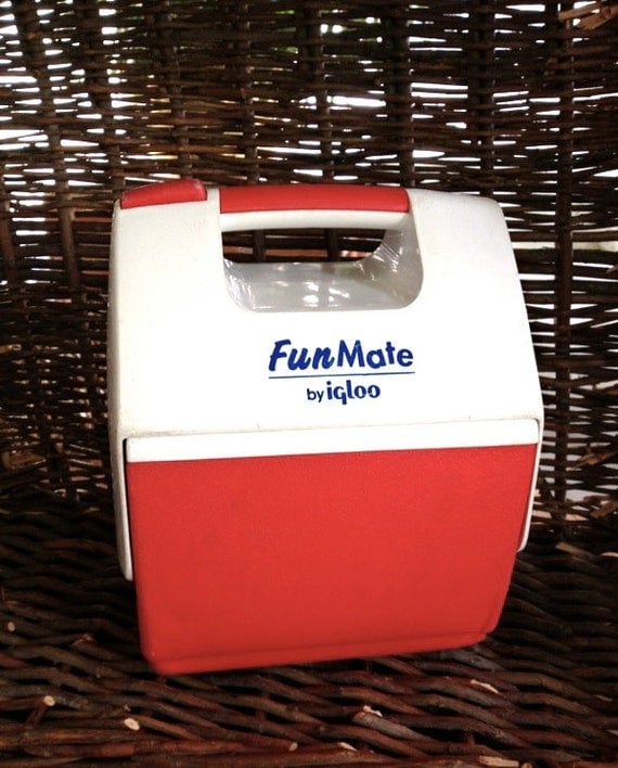Vintage fun mate cooler by igloo child 39 s lunchbox mini - Igloo vintage ...