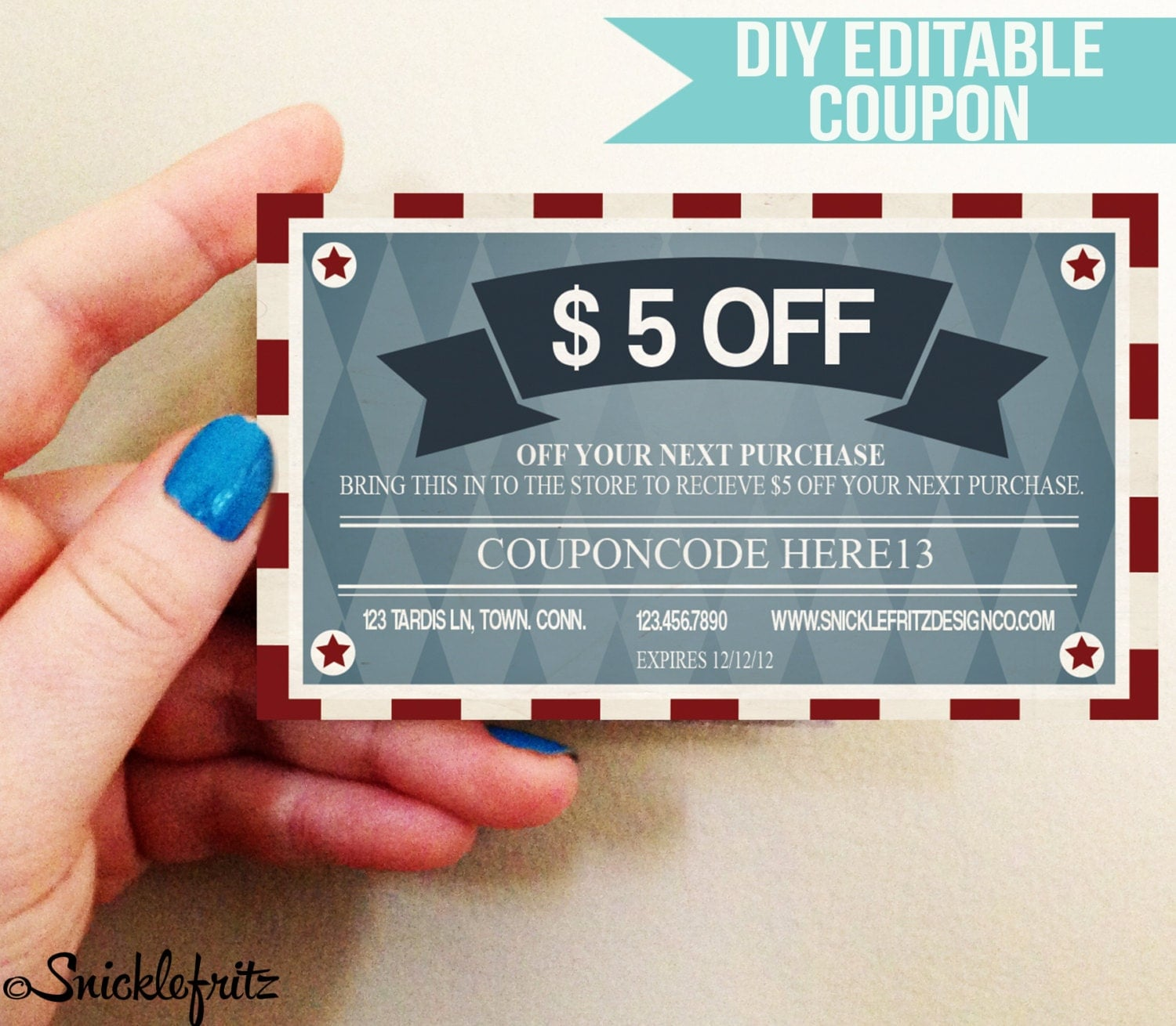 Cute Business Cards Coupons Contemporary - Business Card Ideas ...