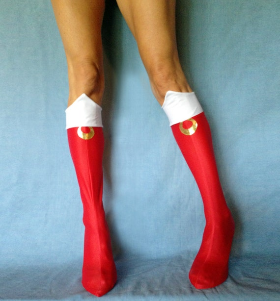 sailor moon boots made in usa by savillacreations on etsy