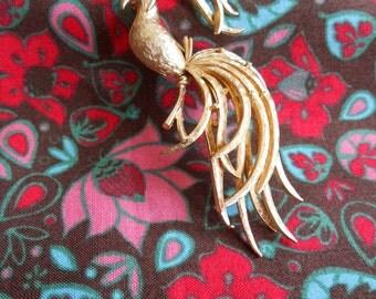 Avon Bird of Paradise Brooch