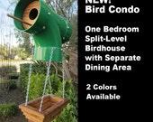 Bird Condo - One Bedroom Split-Level Birdhouse with Balcony and Separate Dining Area