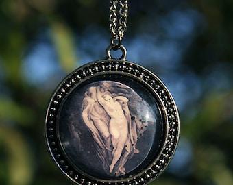 Inferno 2 - Gustave Dore art pendant