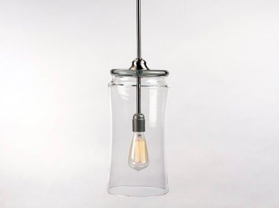 pendant light fixture edison bulb by dancordero on etsy. Black Bedroom Furniture Sets. Home Design Ideas