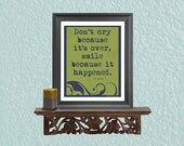 Printable Quotes - Dr Seuss Poster- Digital Art Print - Dorm Art - Graduation Gift - Wall Art - Last Minute Gift
