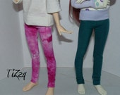 Teal Leggings – Slim Mini/msd/mnf BJD Doll Clothing