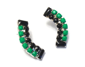 G I N A Kelly Green Earrings