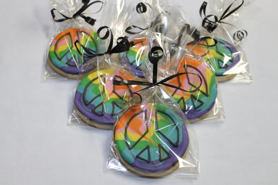 Decorated Round Cookies Decorated Sugar Cookies 1