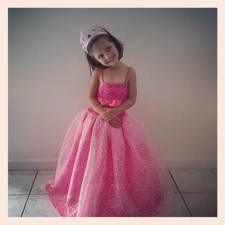 Barbie Princess and Popstar Princess Tori Pink Dress 2 pcs