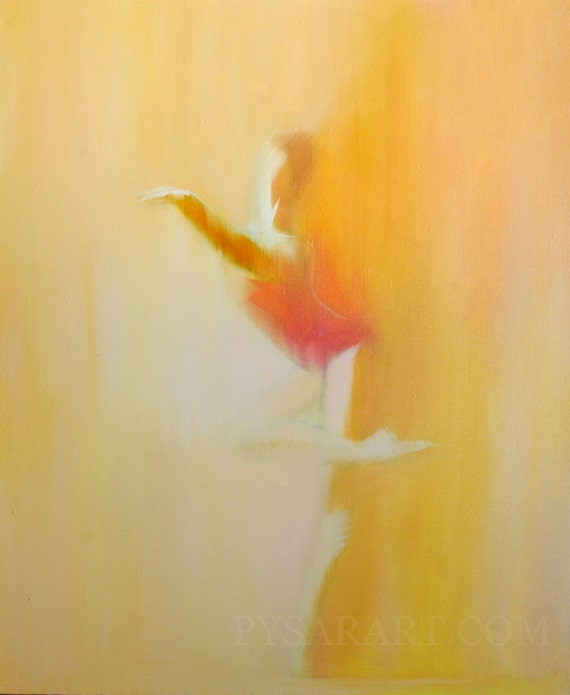 Abstract Ballet Paintings Abstract Ballerina Painting