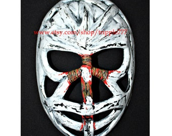 Hockey mask, Hockey goalie, NHL ice hockey, Roller Hockey, Hockey goalie mask, Hockey helmet Montreal Ken Dryden mask HO37