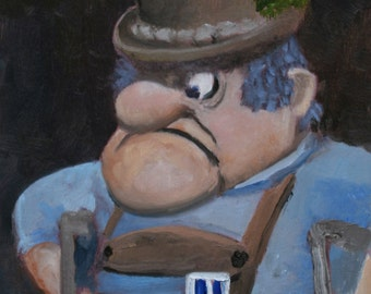 Burgermeister Meisterburger - Fine Art Print