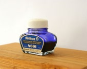 Vintage Pelikan Ink 4001 Blue (Office Supplies)