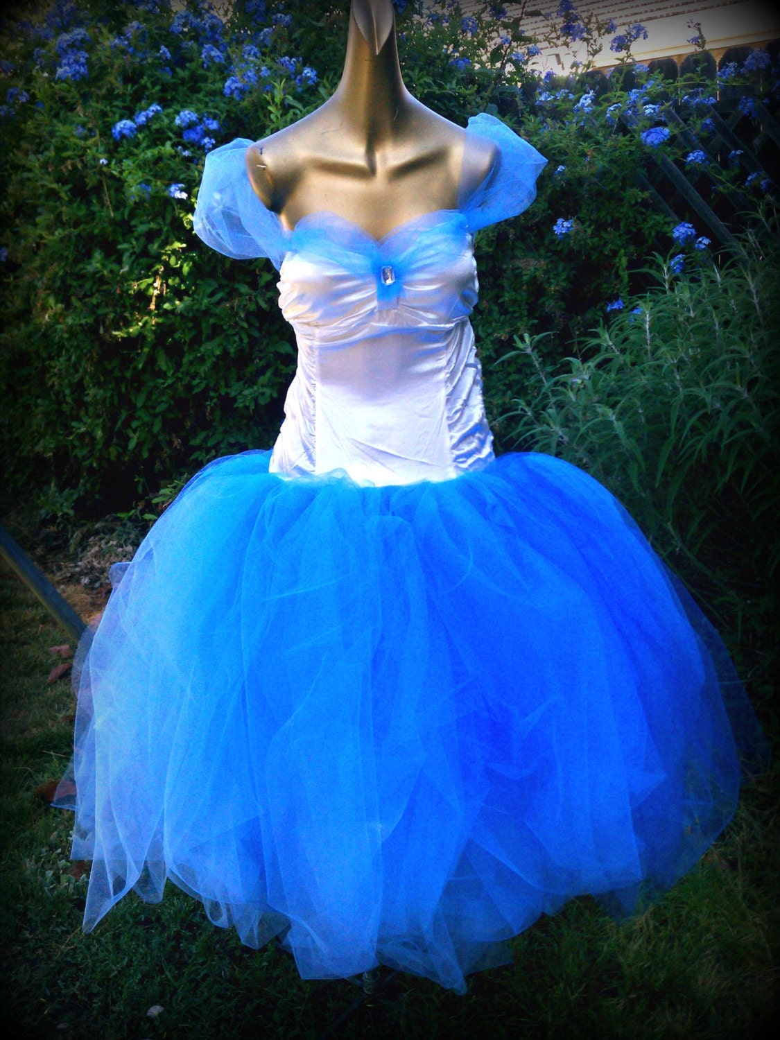 adult tutu dress Cinderella dress princess dress prom