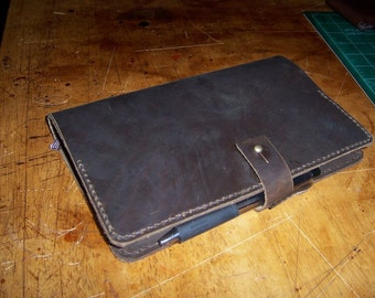 Moleskine Cover. Large.   Handstitched in the USA.