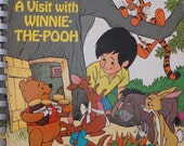 A Visit With Winnie The Pooh - A Fisher Price Talk to Me Book