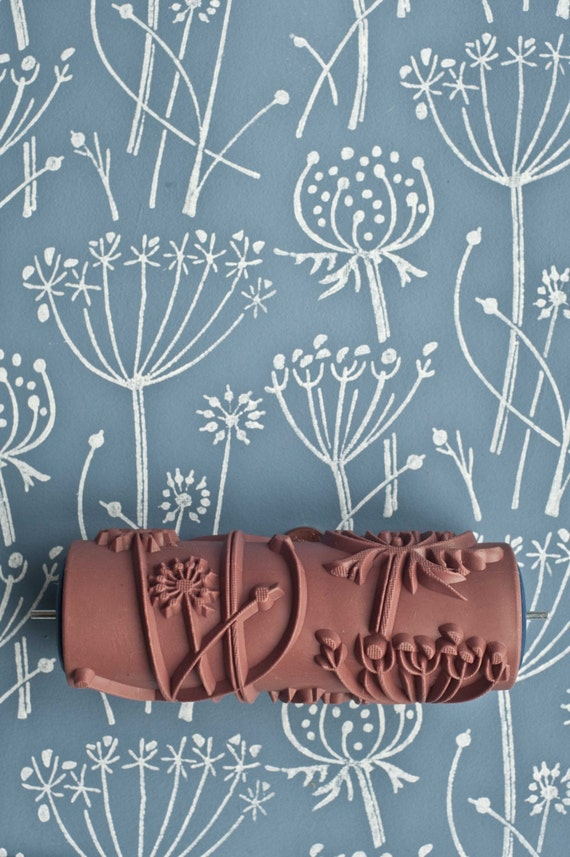 Tussock Patterned Paint Roller By Patternedpaintroller On Etsy Interiors Inside Ideas Interiors design about Everything [magnanprojects.com]