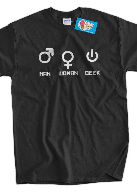 Computer Geek T-Shirt Funny Nerd Man Woman Geek T-Shirt Gifts