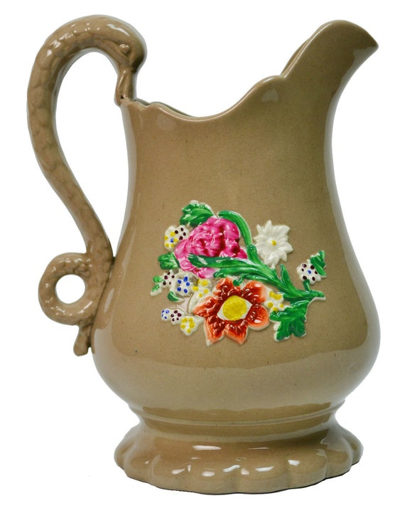 Swan Coffee Maker Replacement Jug : Coffee Coloured Milk Jug with Swan Handle and by LavishShoestring