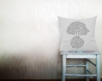 Love tree pillows decorative throw pillows tree of life pillows woodland throw pillows Christmas pillow farmhouse pillow 12x18 inches pillow