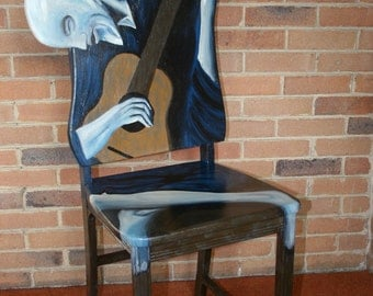 "Picasso ""The Old Guitarist"""