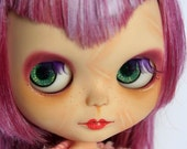 Reserved for gensengiarrocco Custom Blythe doll OOAK RBL Friendly Freckles