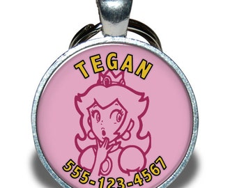 Pet ID Tag - Princess Nintendo
