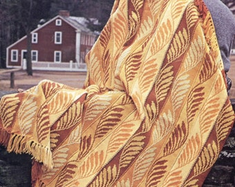 Golden Wheat Heartland - Crochet Blanket Pattern