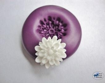 Mum Mold - Chrysanthemum Mold - Silicone Molds - Flower - Polymer Clay Resin Fondant